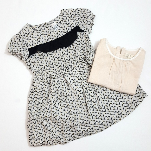 0c4cc3c4d Zara kids Dresses | Lot Of 2 Zara Girl Dress Shirt | Poshmark